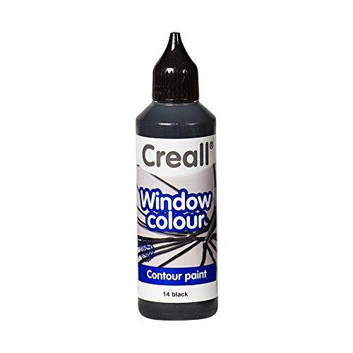 Creall havo2011480ml Contour schwarz Havo Glas Fenster Farbe Flasche