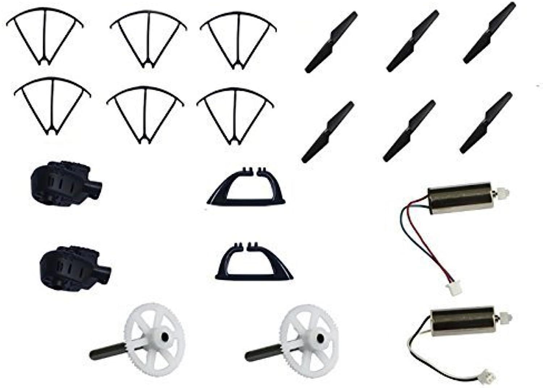 el más barato Czxin MJX X600 2.4g 6 Axis Rc Quadcopter Drone Parts Parts Parts Gears + Motor + Motor Socket + Blade + Landing Gear + Projoective Guard  suministramos lo mejor