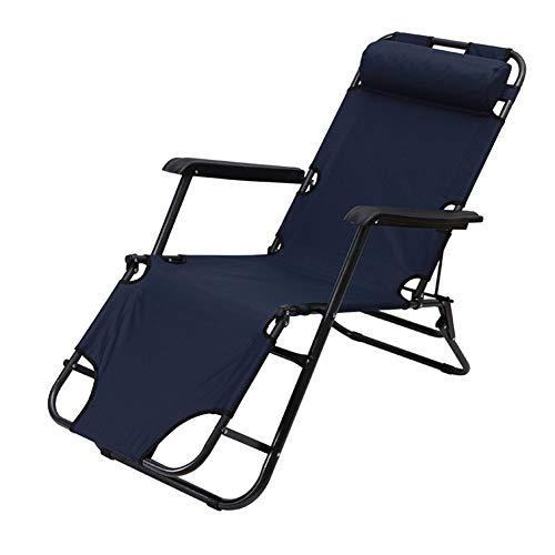 CUICI Oversize Falten Lounge-Stuhl,Tragbar Leicht Zero Gravity Stuhl Mit Kopfstütze,Für Outdoor Indoor Terrasse Strand Pool Rasen