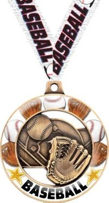 Crown Awards Baseball Medals - 2.25