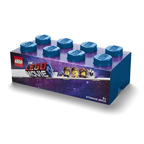 LEGO MOVIE 2 STORAGE BRICK 8 - BLUE