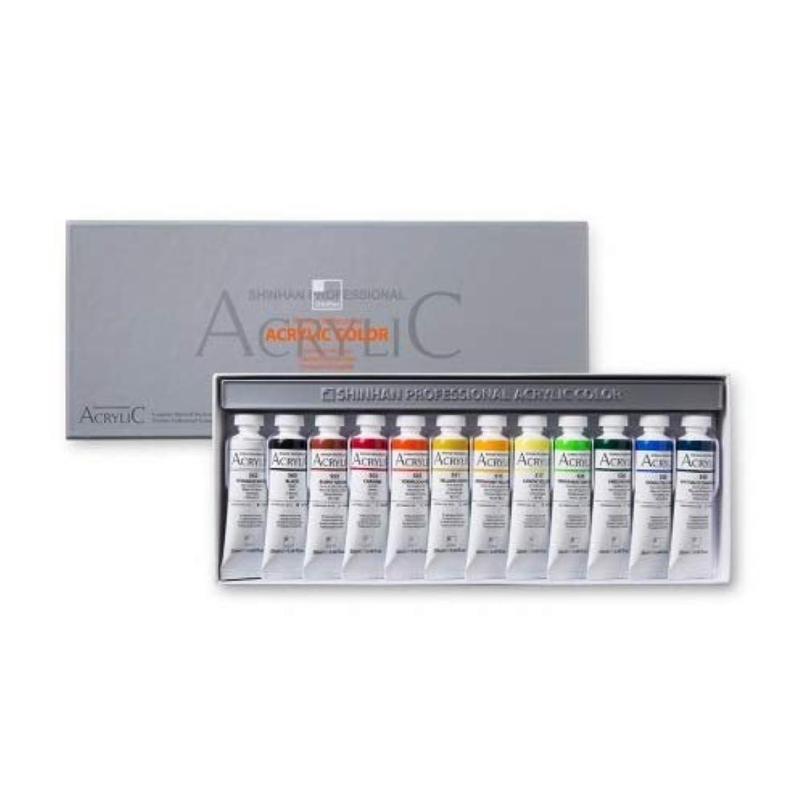 汚す魅惑的なせがむShinHan Professional Acrylic Paint Set 12 colors 20 ml