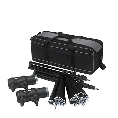 Profoto 901056 D1 Studio Kit 500/500 Air without Air Remote (Black)