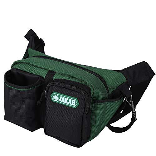 JAKAH - Riñonera para herramientas al por mayor y kit de bolsas de trabajo para electricista, con cinturón