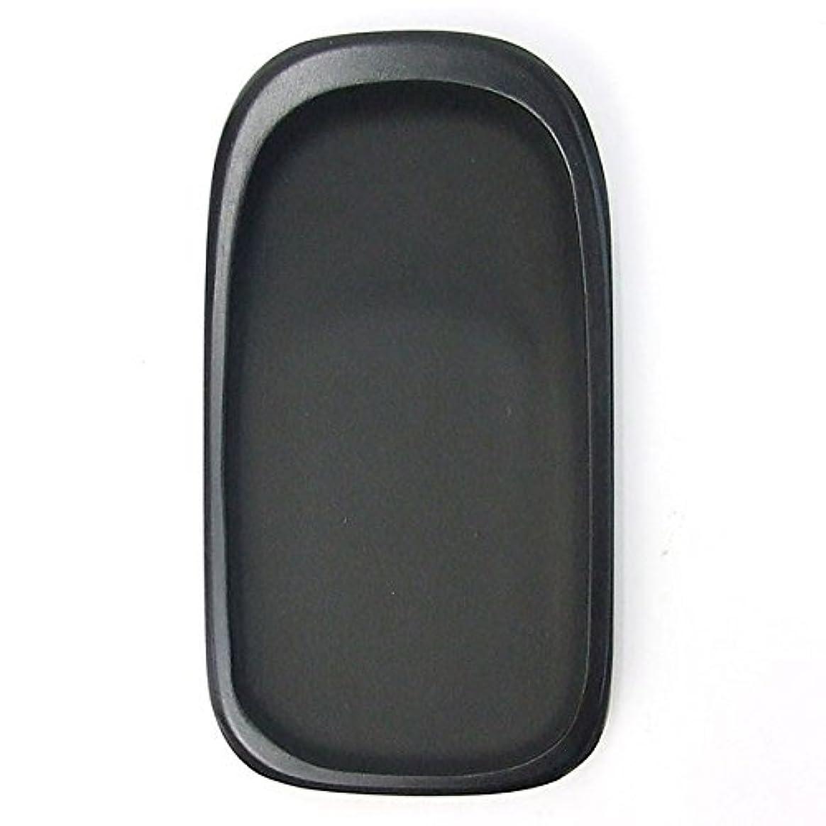 アパル前兆長椅子硯石 四五平 天然型硯 (135×73×20mm)