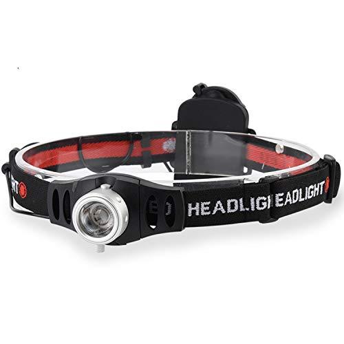 Phares d'éclairage extérieur, Feux de pêche de Nuit de Camping, Petits phares portatifs Ultra légers à Batterie sèche de LED