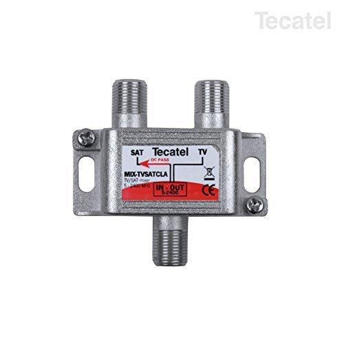 Tecatel distr.ict/telefonia - Mezclador tv-sat serie class-a 5-2400mhz