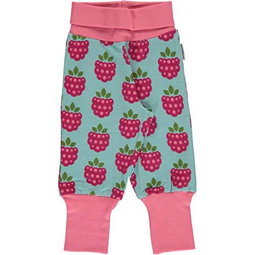 Maxomorra Maxomorra Baby Rib Pants Raspberry 50/56