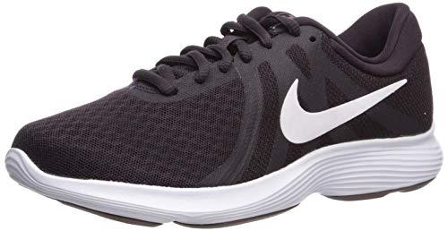 Nike Women's Revolution 4 Running Shoe, Burgundy White Plum, 4 UK