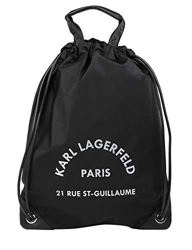 KARL LAGERFELD Sac à dos femme modèle 201W3078 noir - - Taille unique