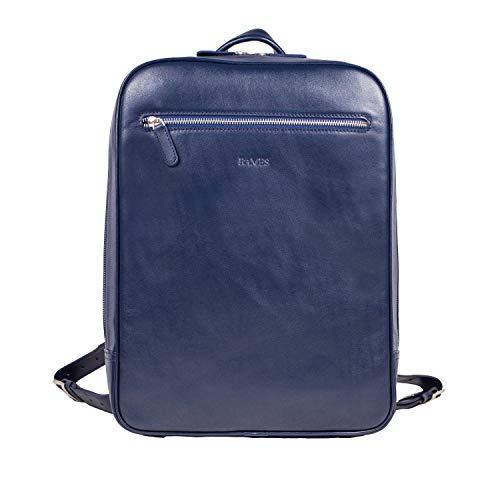 RAMES Business Rucksack | Aus Nappa-Leder | Für 15 Zoll Laptop | 12 Liter Volumen |...