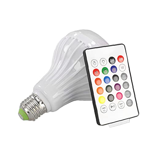 vvd Bombilla Led De La Música del Altavoz De Luz Led RGB Música Lámpara Color Que Cambia De Colores Smart Connection Bombilla