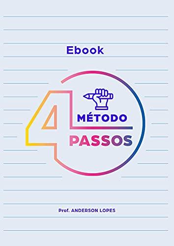 Ebook Método 4 Passos: Orientações dinâmicas sobre a redação Enem