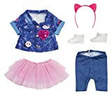 Zapf Creation 829110 BABY born Deluxe Jeans Kleid Set Puppenkleidung 43 cm