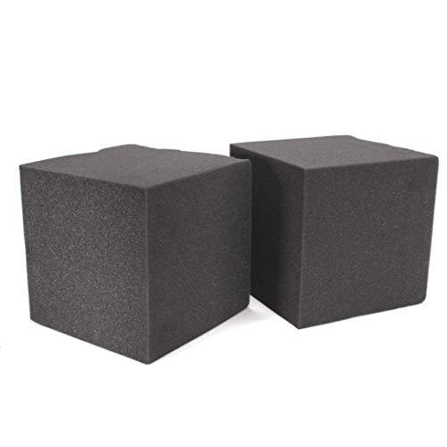 ZXYAN 20x20x20cm 2 Pcs Insonorisation Mousse Absorption Cube Studio Acoustique Salle De Musique Traiter