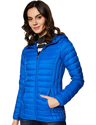Levi's Women's Jacket (16386-0000_Blue_S)