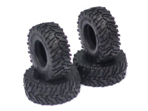 Orlandoo Hunter Model #OL/GA1003 Big Block Tires Ver C 4 Pcs For OH35P01 OH35A01 for Orlandoo Hunter Model Orlandoo Hunter Jeep Rubicon