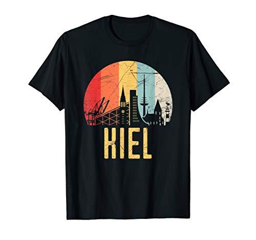 Kiel I 80er Retro Souvenir I Vintage Design T-Shirt