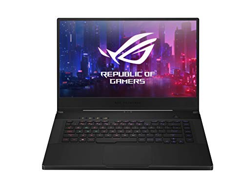 ASUS ROG Zephyrus (M GU502GV-AZ037T), Laptop van 15.6'' Full-HD IPS (NIVIDIA Geforce RTX 2060, 512GB HDD, 16GB RAM, 3MS, Black-Metal, Windows 10 Home) ,QWERTY NL Toetsenbord