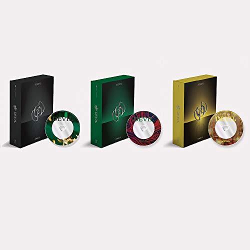 ONEUS - Devil (Vol.1) Album+Folded Poster+Extra Photocards Set (Black ver.)