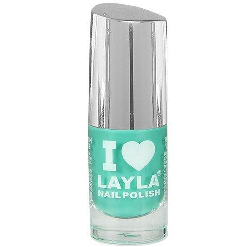 Layla Cosmetics I Love Layla Nagellack - greeny blue, 1er pack (1 x 0.005 l)