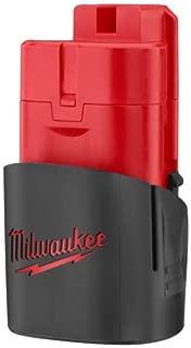 Two Milwaukee 48-11-2401 12-Volt Lithium-ion Cordless Tool Batteries