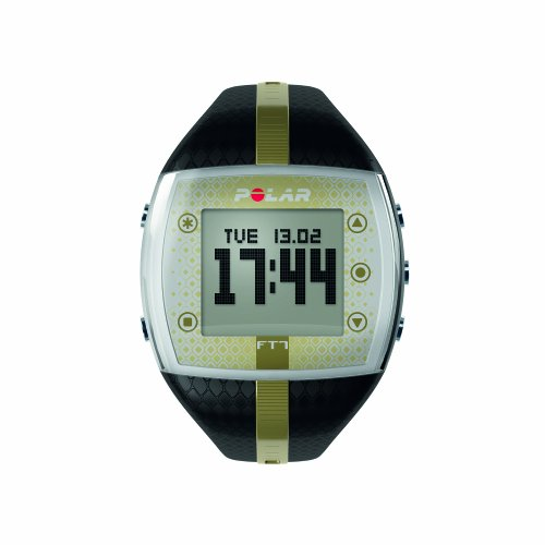 Polar FT7 Women's Heart Rate Monitor Watch (Black / Gold)