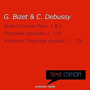 """Red Edition - Bizet & Debussy: Suites Carmen Nos. 1, 2 & Khamma """"Légende dansée"""", L. 125"""