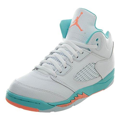 Jordan Air Little Kids 5 Retro 440893-100 (12)