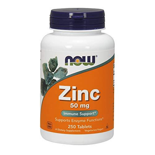 NOW Foods Zinc Gluconate, 250-Count