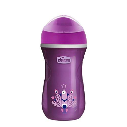 Chicco Termo Active - Vaso con boquilla que mantiene la temperatura, color rosa
