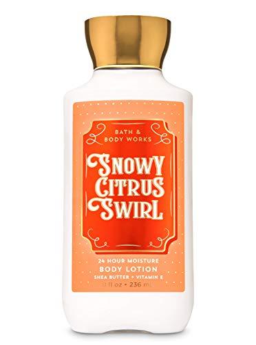Bath amp Body Works Snowy Citrus Swirl 2019 Super Smooth Body Lotion with Shea and Vitamin E 8 fl oz / 236 mL