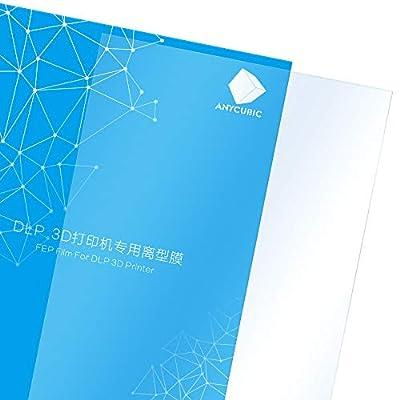 ANYCUBIC FEP Film for DLP Photon Printer Teflon Film 0.15mm High Transmittance Strength 2ps
