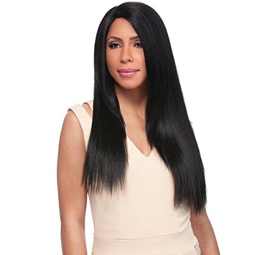 Sensationnel Perruque synthétique empress lace front wig élégant Yaki 24 (60 cm) (Custom Wig)