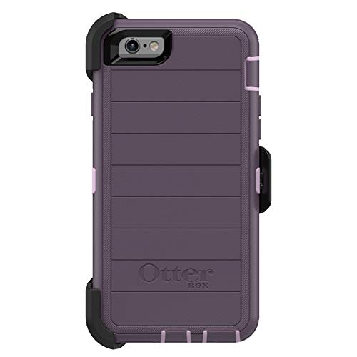 OtterBox DEFENDER SERIES Case & Holster for iPhone 6 / 6S (ONLY) - Purple Nebula