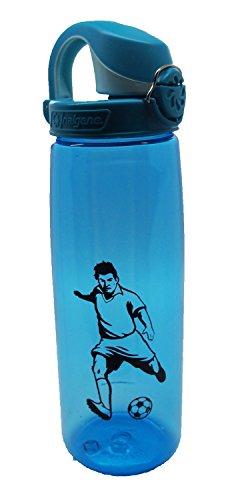 Nalgene 'Everyday OTF' - 0,7 L, blau, Fussball