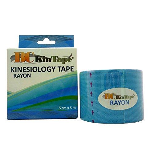 BC kintape Rayon 5x 5–1Rolle blau