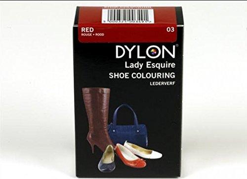 Dylon-Tintura per scarpe, colore: rosso