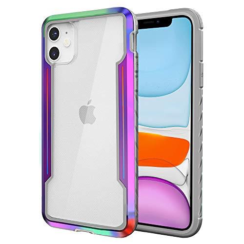 TIANNIUKE iPhone 11 Hülle, Neue Metall Serie [SGS Drop Tested] Starke Stoßfeste Mehrfachschutz Anti-Fall Handyhülle für iPhone 11 Case (Mehrfarbig)
