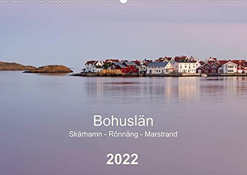 Bohuslän. Skärhamn - Rönnäng - Marstrand (Wandkalender 2022 DIN A2 quer): Idyllische Dörfer, zauberhafte Landschaften und eine traumhafte Schärenküste (Monatskalender, 14 Seiten )