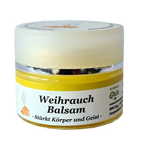 Weihrauch Balsam mit Bienenwachs entzündungshemmend, mildert Hautreizungen, wirkt erneuernd, 30 ml