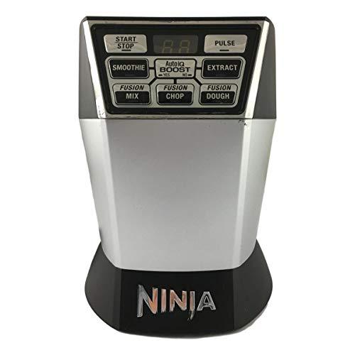 Original Nutri Ninja Blender NN101 Motor Base with Auto-iQ Boost (7 Fin) 1200-Watt 1.6 Horsepower For Nutri Bowl Duo Substitute For NN100 NN100A NN102 Home Kitchen Appliance (Certified Refurbished)