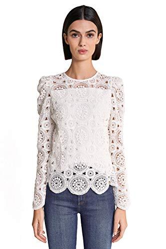 Salsa Camiseta con Crochet