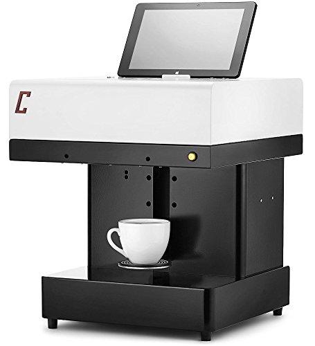 Colorato Impresora de café Coffeeprinter, colorante alimentario aprobado por la DGUV.