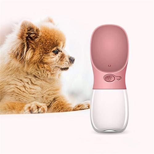 LoveOlvidoD Kompakte größe 350 ml Haustiere Hunde fütterung wasserflasche dicht im freien Reise Hund Haustiere trinkwasserflasche Werkzeug