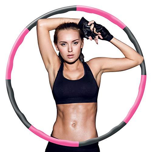 Fitness Reifen Hoop für Erwachsene Kindern 8 Taille 90cm zur...