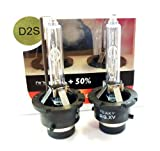 Yeaky Lighting D2S - Bombillas de xenón HID (35 W + 50%, 5500 K)