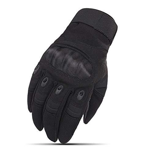 Mcttui Guantes tácticos de Airsoft guantes Hombres, Hombres Guantes tácticos militares de pantalla táctil guantes de Airsoft Paintball del Ejército de disparo de combate engranaje guantes cásc