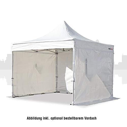 Marktzelt 3x3 (PVC) Business inkl 3 Seitenwände, Faltzelt, Faltpavillon