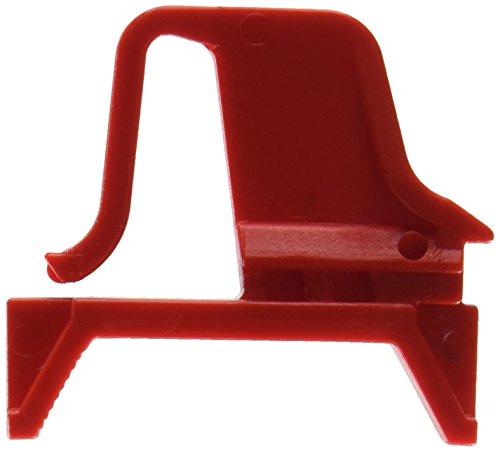 Preisvergleich Produktbild Allit 456781 Schiebeschnappverschluss für Eurobox 4 Stück in rot